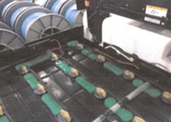 フォークリフト用バッテリー回復実証実験